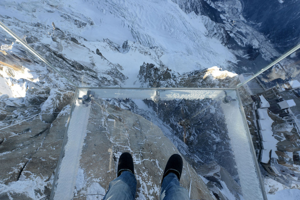 3. Step into the Void, Chamonix, Frankreich