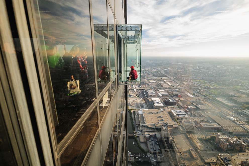 Skydeck Willis Tower, Chicago